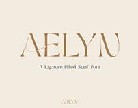 AELYN - FREE LIGATURE SERIF FONT
