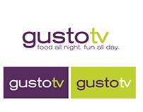 Gusto TV brand identity