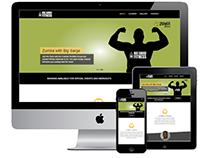 Responsive web design - BIg Sarge Fitness