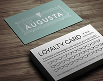 Cafe Augusta - Logo Development and Branding