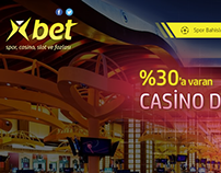 XBet - Imressive Bet Site Design