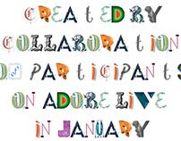 Adobe Live font collaboration