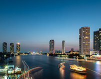 BANGKOK's Public Space, Chao Phraya River II