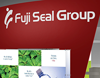 Fuji Seal Group Exhibit Booth