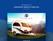 White Pigeon Website Template