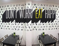 DON'T WORRY, EAT HAPPY