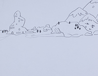 Gone Fishin' - 2D Hand-Drawn Animation