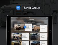 S.G. iPad app