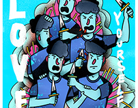 Illustrations #2 (June - July 2018)