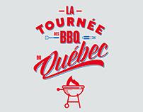 Identité visuelle de La tournée des BBQ du Québec
