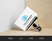 L008 - Cloud Camera Logo Template