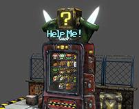 Vending machine of old item / Mario