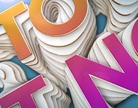 Topographic Logo - VH