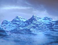 Winter Landscape Render