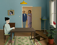 Paper Illustration & Animation