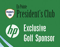 Presidents Club Standee Banner for En Pointe