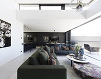 Twin Houses by Architecture Saville Isaacs