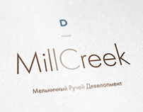 Logotype for Mill Creek golf resort