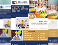 Cleaning service flyer