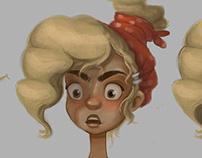 The Strange Family (character design)
