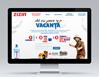 Web design for Zizin