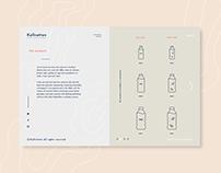 Kallvatten Website Design