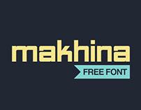 Makhina: Free Font