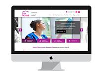 MyHome Franchise Website Mockup