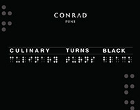 CONRAD CULINARY TURNS BLACK - CONRAD PUNE