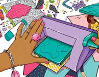 Fashion Press Illustrations