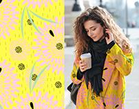 Scandinavian Summer Pattern for Bruberi Design Studio