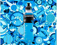 Powerade Blue