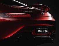 Mercedes - AMG GTS - Automotive CG Challenge 1