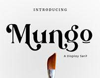 Mungo - Display Serif Font