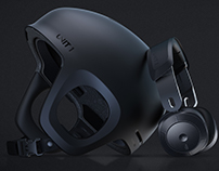 SOUNDSHIELD / Helmet and Headphones Combined