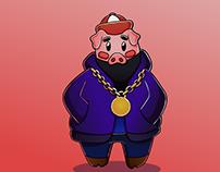 PigFat - Ilustration
