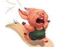 Pigglet on the run