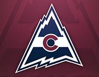 Colorado Avalanche Rebrand - Concept