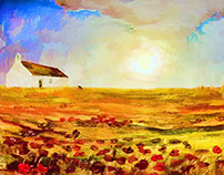 Spanish landscape paintings