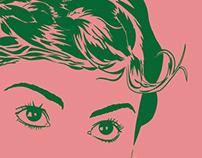 Ilustração – Audrey Tautou
