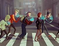 Lemmings run