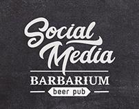 SOCIAL MEDIA | Barbarium Beer Pub
