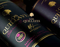 Los Quillayes - Wine Label