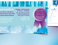 Frozen themed - Poster Design