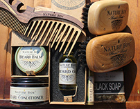 Nature Boy Grooming Products Branding & Website