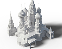 St. Basil's Cathedral 3D model