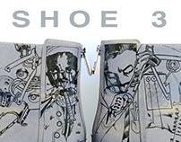Shoe 3, Ink on Zara Shoes