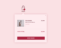 Daily UI #058 — Shopping Cart