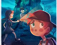 Little adventurers- Illustration