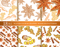 Spice patterns collection